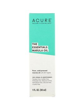 Acure, The Essentials Marula Oil, 1 Fl Oz (30 Ml) by Acure