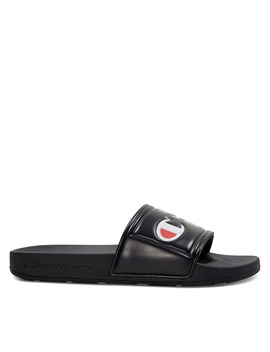 Women's Ipo Jock Slides In Black by Little Burgundy