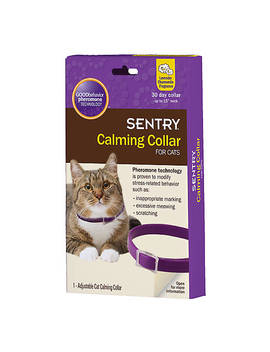 sentry-calming-collar-for-cats---lavender-chamomile by sentry