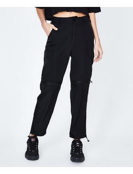 Yesha Legacy Parachute Pant Black by General Pants Co