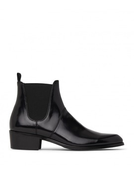 Alton Chelsea Boot   Black Pu by Matt & Nat