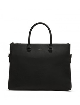 Alban Briefcase   Black by Matt & Nat