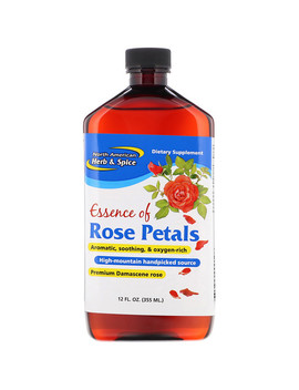 North American Herb &Amp; Spice Co., Essence Of Rose Petals, 12 Fl Oz (355 Ml) by North American Herb &Amp; Spice Co.