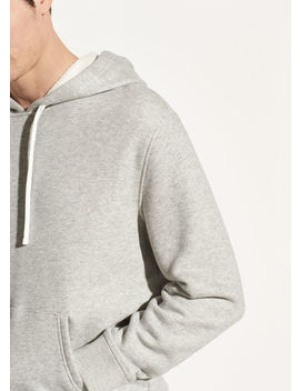 Heathered Pullover Hoodie by Vince