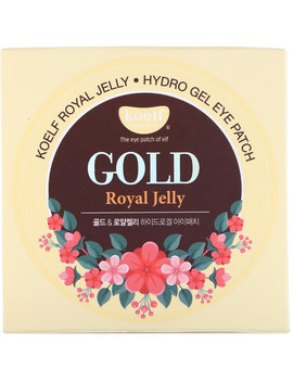 Koelf, Gold Royal Jelly Hydro Gel Eye Patch, 60 Patches by Koelf