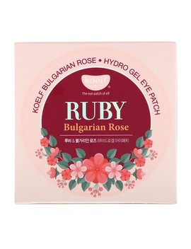 Koelf, Ruby Bulgarian Rose Hydro Gel Eye Patch, 60 Patches by Koelf