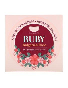 Koelf, Ruby Bulgarian Rose Hydro Gel Eye Patch, 60 Patches by Koelf