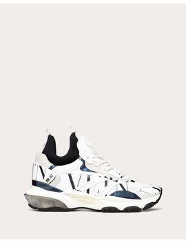 Bounce Neoprene Sock Sneaker With Vltn Logo by Valentino