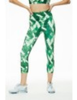 Palm Print Capri by L'urv