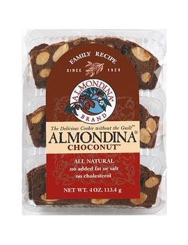 Almondina, Choconut, Almond And Chocolate Biscuits, 4 Oz (113 G) by Almondina