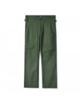 Junya Watanabe Man Satin Trousers (Khaki) by Dover Street Market