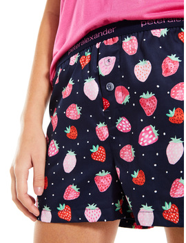 Strawberry Jam Boxer Short by Peter Alexander