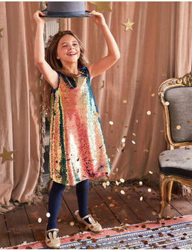 Super Sequin Dress by Boden