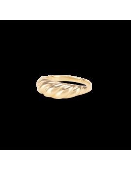 Thin Croissant Dôme Ring by Mejuri