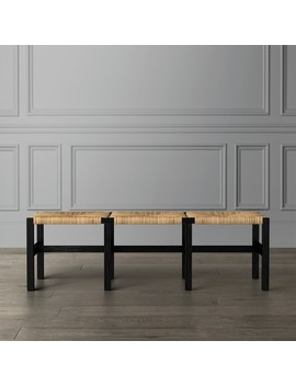 Newcomb Woven Bench by Williams   Sonoma
