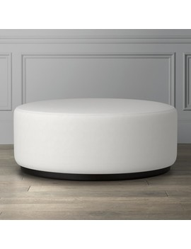 Robertson Ottoman by Williams   Sonoma