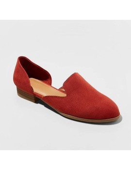 womens-maeve-faux-leather-square-toe-flat-loafers---universal-thread by universal-thread