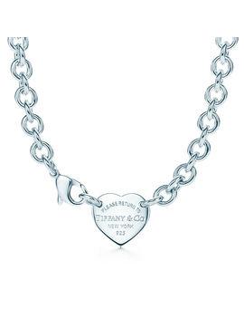 Heart Tag Choker by Return To Tiffany®