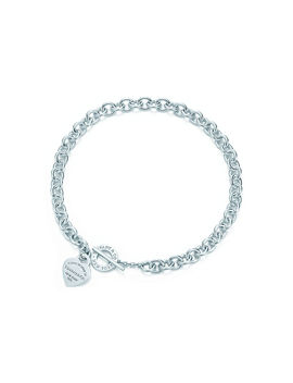 Return To Tiffany® 												  												  											 										 									 									Heart Tag Toggle Necklace by Return To Tiffany®