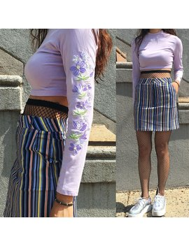 2018 New Rainbow Lavender 90 S Collection  Outfit Set by Kokopiecoco