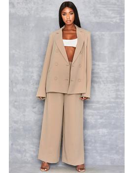 tan-wide-leg-trousers by mistress-rocks