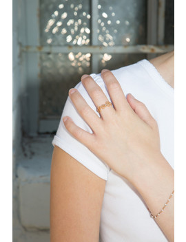 Gold Stars Ring by Brandy Melville