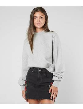 Open Back Sweatshirt by Kendall + Kylie