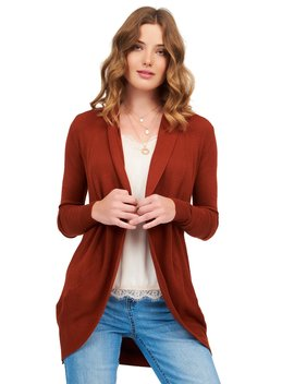 Long Sleeve Sweater Duster by Suzy Shier
