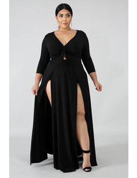Scrunch Maxi Dress by Gitionline