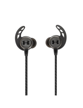 Jbl Under Armour React In Ear Wireless Bluetooth Sport Headphones (Black) by Jbl