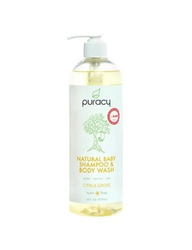 Puracy Natural Baby Shampoo & Body Wash by Well