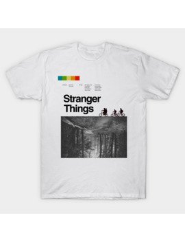 Stranger Things Vintage Poster T Shirt by Eleanore