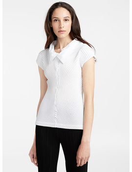 Comet Stretch Top by Issey Miyake