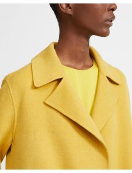 Double Faced Overlay Coat by Theory