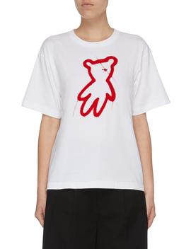 Bear Print T Shirt by Shushu/Tong