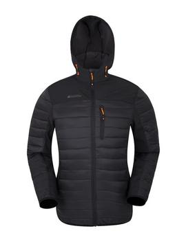 Turbine Mens Padded Softshell by Mountain Warehouse