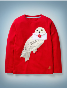 Hedwig Appliqué T by Boden