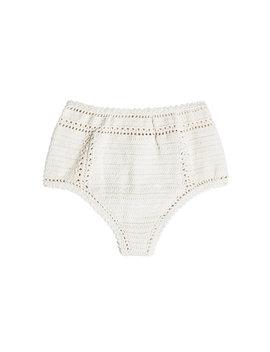 Gehäkelte Bikini Hose Aus Baumwolle by She Made Me