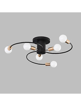 Jsg Ylights 6 Light Flush Mount Lights Ambient Light Painted Finishes Metal New Design 110 120 V / 220 240 V  #07324742 by Lightinthebox
