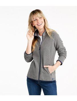Soft Brushed Fitness Fleece Zip Pocket Jacket by L.L.Bean