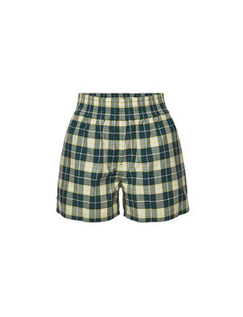 Karierte Shorts Dovemoore Aus Baumwolle by Burberry
