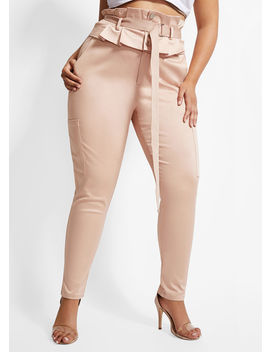 La La Anthony High Waist Pant by Ashley Stewart
