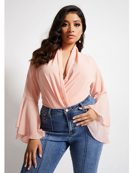La La Anthony Bodysuit by Ashley Stewart