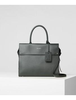 K/Ikon Top Handle Bag by Karl Legerfeld