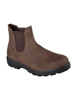 Men's Molton Gaveno Relaxed Fit Chelsea Boot by Skechers