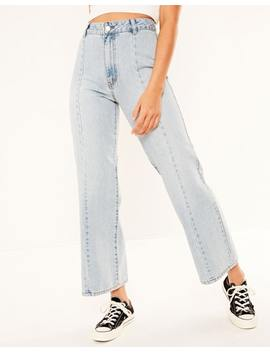 Panelled Cropped Jean by Glassons
