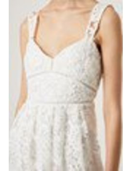 Alicia Lace Strappy Midi Dress by French Connection