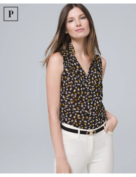 Petite Mixed Dot Shell by Whbm