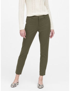 Modern Sloan Skinny Fit Brushed Washable Pant by Banana Repbulic
