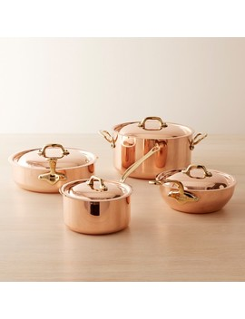 Mauviel Copper 8 Piece Cookware Set by Williams   Sonoma
